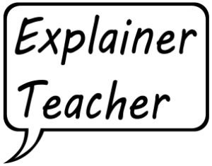 Explainer Teacher - Logo